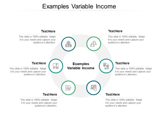 Examples Variable Income Ppt PowerPoint Presentation Show Summary Cpb
