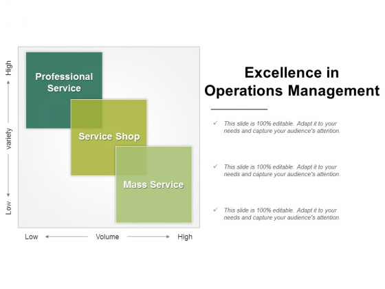 Excellence In Operations Management Ppt PowerPoint Presentation File Tips