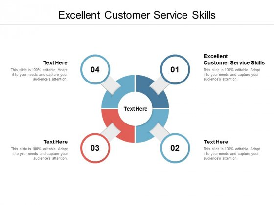 Excellent Customer Service Skills Ppt PowerPoint Presentation Gallery Slides Cpb