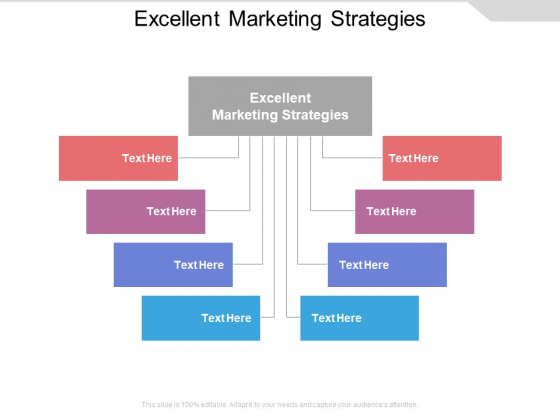 Excellent Marketing Strategies Ppt PowerPoint Presentation Layouts Information Cpb Pdf