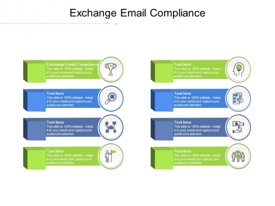 Exchange Email Compliance Ppt PowerPoint Presentation Infographic Template Designs Cpb Pdf