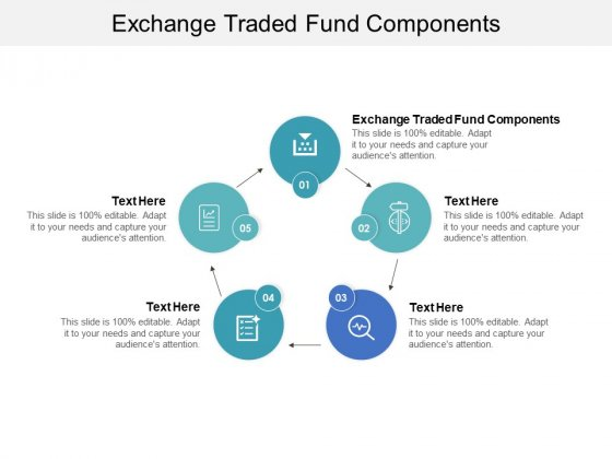 Exchange Traded Fund Components Ppt PowerPoint Presentation Inspiration Design Ideas Cpb Pdf