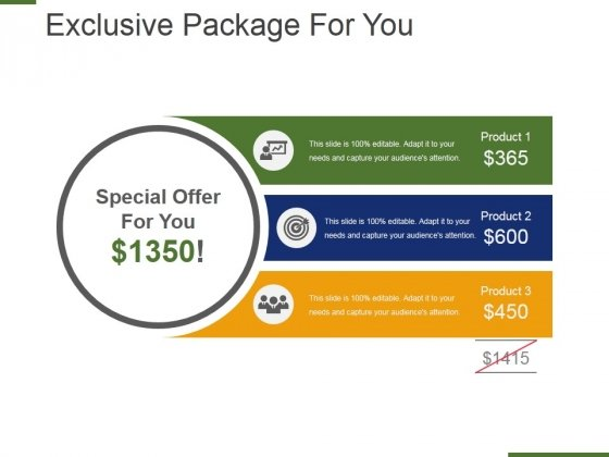 Exclusive Package For You Ppt PowerPoint Presentation Infographics Background Image