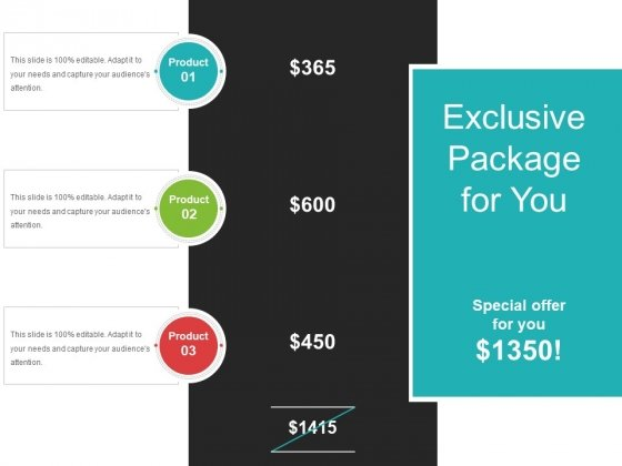 Exclusive Package For You Ppt PowerPoint Presentation Styles Example