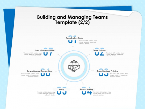 Executive Leadership Programs Building And Managing Teams Template Team Ppt Gallery Show PDF