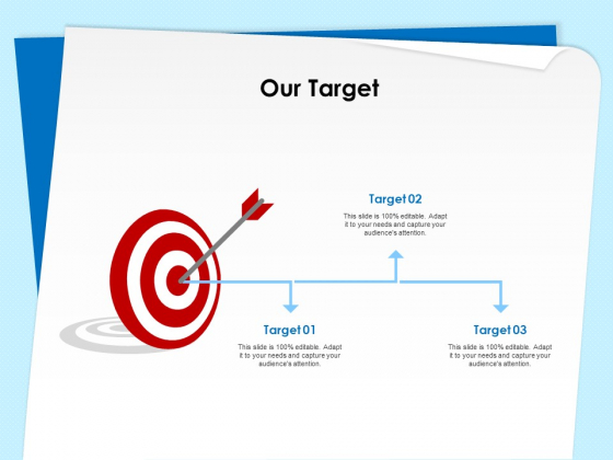 Executive Leadership Programs Our Target Ppt PowerPoint Presentation Pictures Example Topics PDF