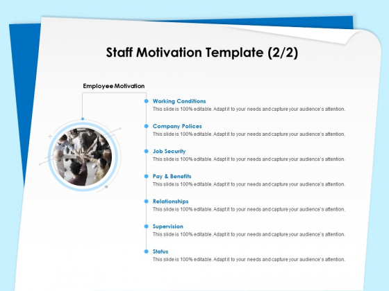 Executive Leadership Programs Staff Motivation Template Relationships Ppt PowerPoint Presentation Pictures Outfit PDF