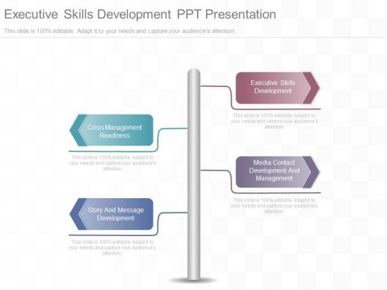 Executive Skills Development Ppt Presentation