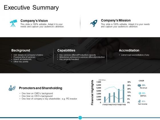 Executive Summary Ppt PowerPoint Presentation Model