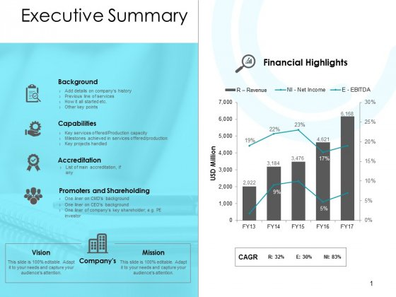 Executive Summary Ppt PowerPoint Presentation Show Graphics
