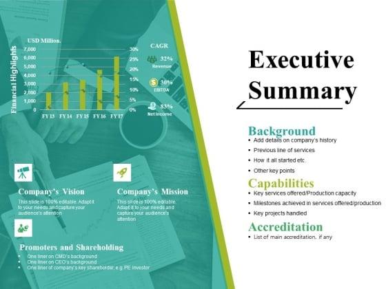 Executive Summary Ppt PowerPoint Presentation Summary Themes