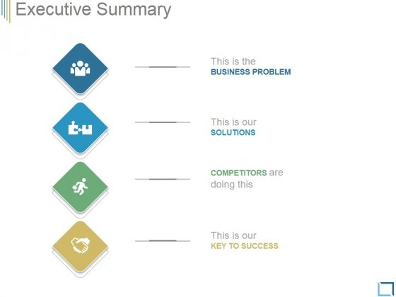 Executive Summary Template 1 Ppt PowerPoint Presentation Files