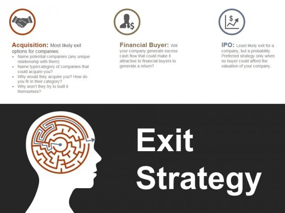 Exit Strategy Ppt PowerPoint Presentation Infographics Gridlines