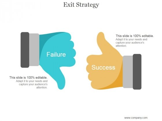 Exit Strategy Ppt PowerPoint Presentation Shapes