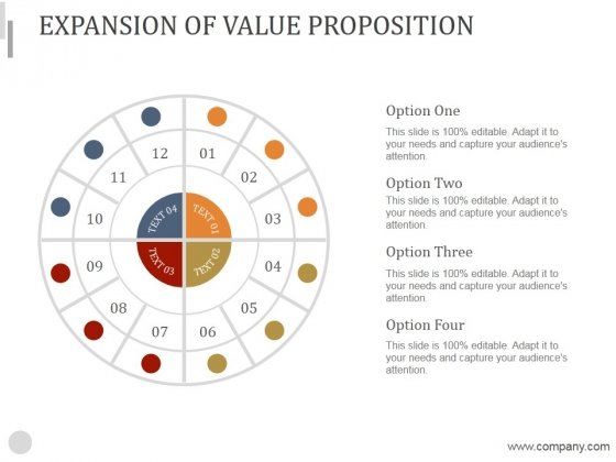 Expansion Of Value Proposition Ppt PowerPoint Presentation Files