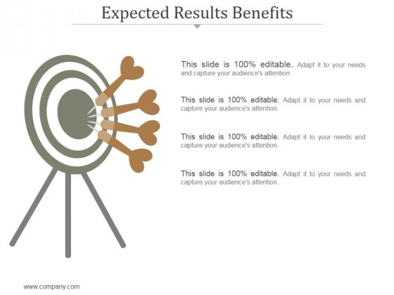 Expected Results Benefits Ppt PowerPoint Presentation Influencers