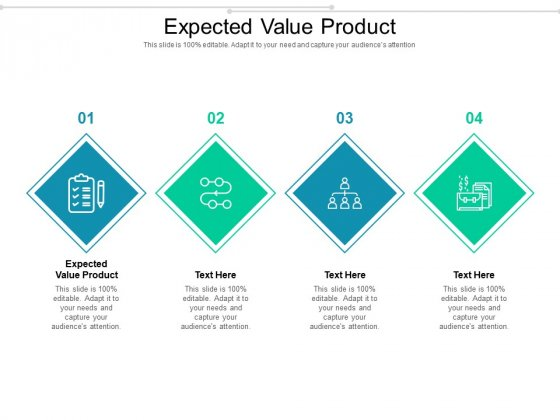 Expected Value Product Ppt PowerPoint Presentation Deck Cpb Pdf