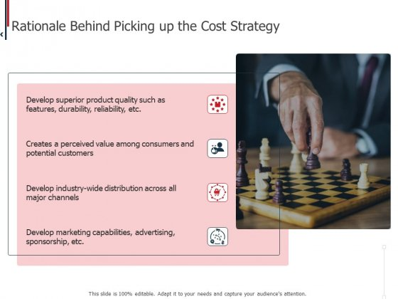 Expenditure Administration Rationale Behind Picking Up The Cost Strategy Ppt Infographic Template Summary PDF