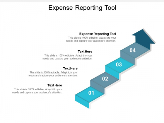 Expense Reporting Tool Ppt PowerPoint Presentation Summary Objects Cpb