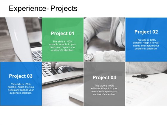 Experience Projects Marketing Ppt PowerPoint Presentation Infographics Example