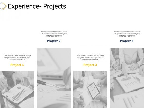 Experience Projects Ppt PowerPoint Presentation Slides Styles