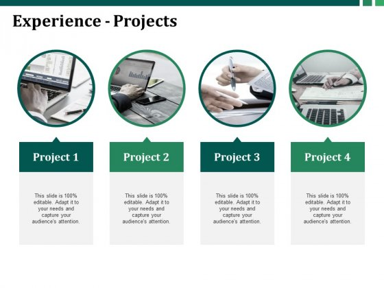 Experience Projects Ppt PowerPoint Presentation Styles Elements