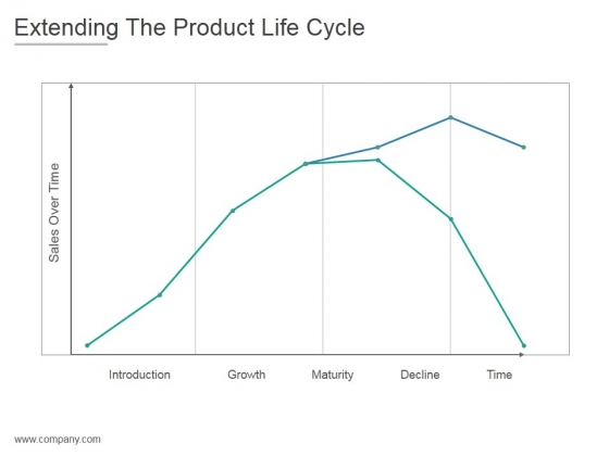 Extending The Product Life Cycle Ppt PowerPoint Presentation Visuals