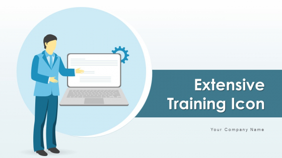 Extensive Training Icon Cloud Management Ppt PowerPoint Presentation Complete Deck With Slides