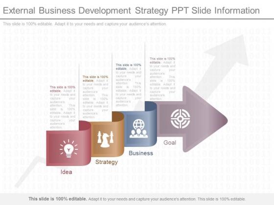 External Business Development Strategy Ppt Slide Information