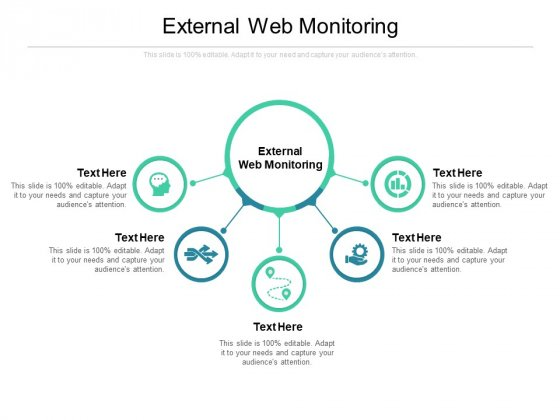 External Web Monitoring Ppt PowerPoint Presentation Pictures Infographics Cpb