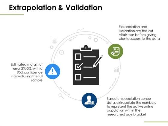 Extrapolation And Validation Ppt PowerPoint Presentation Summary Graphics Tutorials
