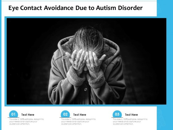 Eye_Contact_Avoidance_Due_To_Autism_Disorder_Ppt_PowerPoint_Presentation_Infographic_Template_Portrait_PDF_Slide_1