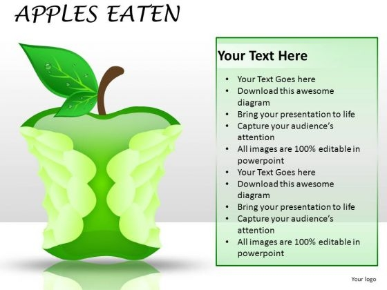 Eating Market Share PowerPoint Slides And Ppt Diagrams Templates