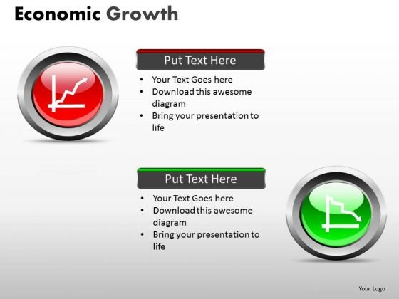 Economic Boom PowerPoint Slides Recession Ppt Templates