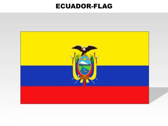 Ecuador Country PowerPoint Flags