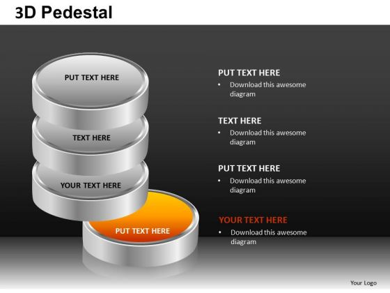 Editable 3d List Discs PowerPoint Slides And Ppt Diagram Templates