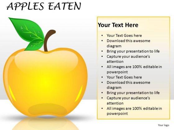 Editable Apple Clipart Slides