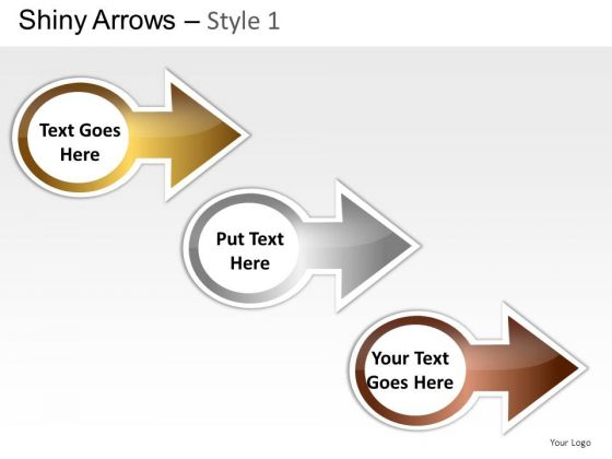 Editable Arrows Set PowerPoint Slides And Ppt Diagram Templates