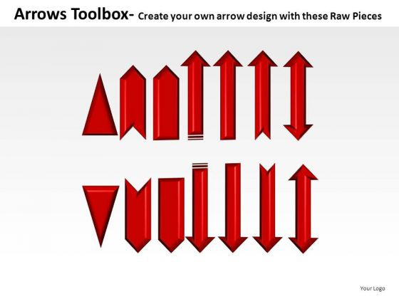 Editable Arrows Toolbox PowerPoint Slides And Ppt Diagram Templates