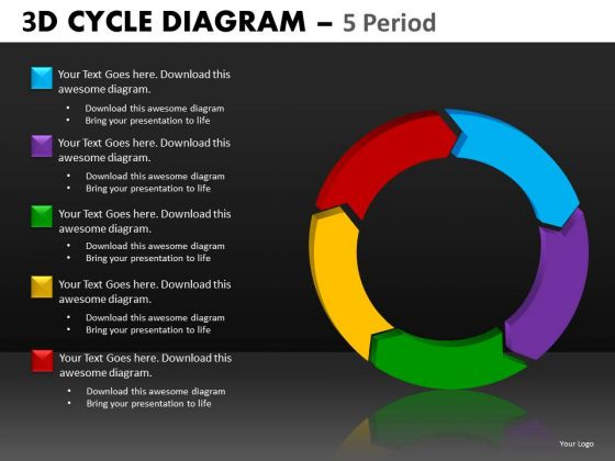 Editable Business Process Cycle Diagram PowerPoint Templates And Slides Download
