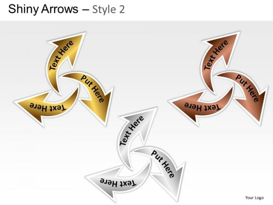 Editable Circular Arrows 2 PowerPoint Slides And Ppt Diagram Templates