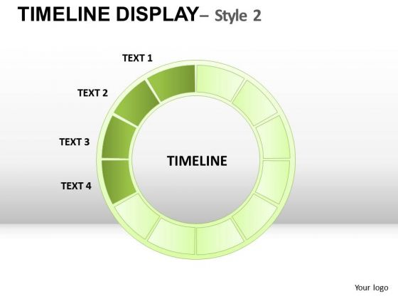 Editable Colors Timelines 1 PowerPoint Slides And Ppt Diagram Templates