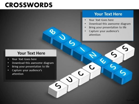 Editable Crosswords PowerPoint Templates