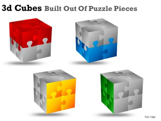 Editable Face 3d Cubes PowerPoint Slides And PowerPoint Image Diagrams