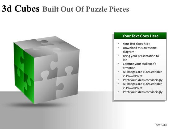 Editable Faces Cubes Puzzle PowerPoint Slides And Ppt Diagram Templates