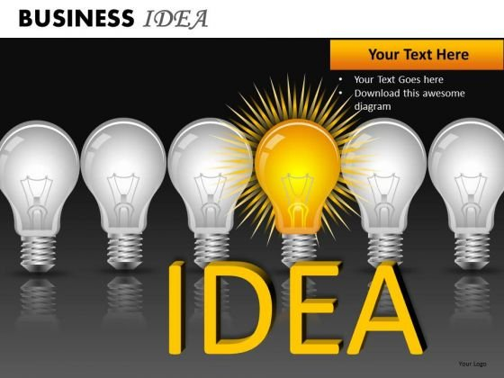 Editable Innovative Idea Light Bulb PowerPoint Slides And Ppt Diagram Templates