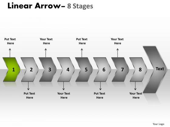 Editable Ppt Constant Description Of 8 Arrows Operations Management PowerPoint 2 Graphic