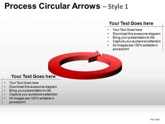 Editable Ppt Slides Circular Arrows Cycle Diagram PowerPoint Templates