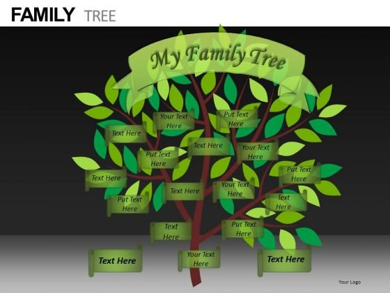 Editable Ppt Slides Family Tree Download