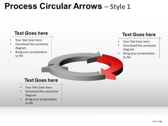 Editable Ppt Slides Round Arrows Process Cycle Diagrams PowerPoint Templates